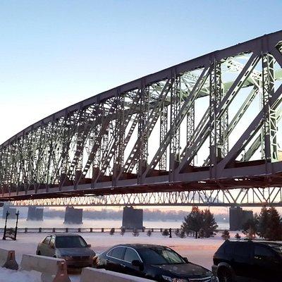 первый мост через Обь