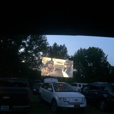 We loved the drive-in theater'