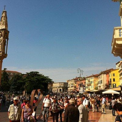 Via Mazzini, the main road