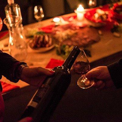 Wine tasting in the Wine Cellar Panajotovic