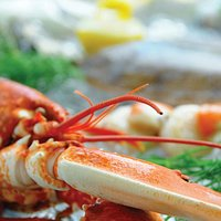 Serving locally sourced seafood