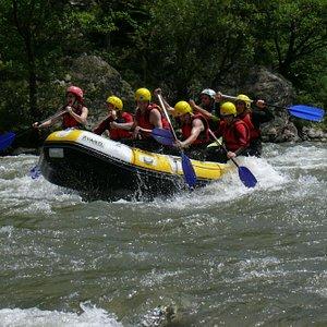 Adventure on Jiu river