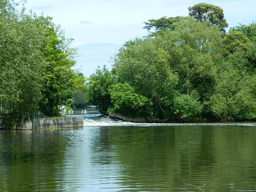 View of the weir
