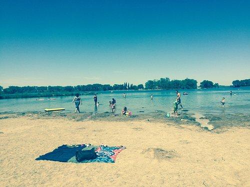The beach at Park Lake Prov. Park