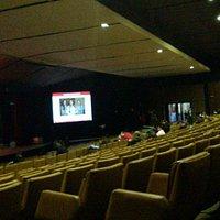 Foto de dentro do teatro