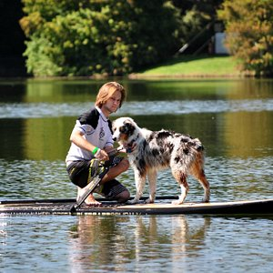 Any one can Paddle Board SUP!