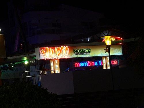 Mambo's at Night