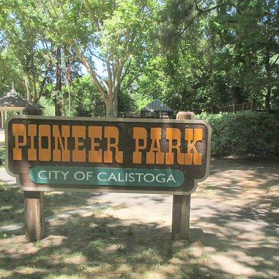 Pioneer Park, Calistoga, Ca