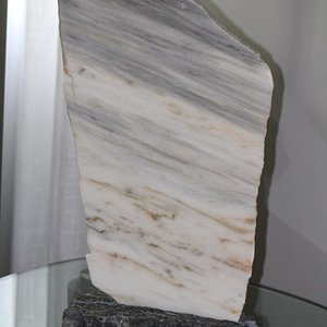 Marble slab-looked to me like the ocean and waves