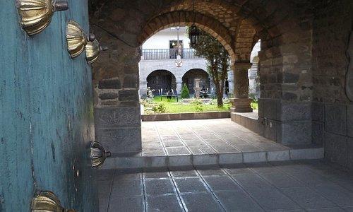 Door and entrance