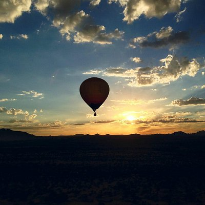 Hot air ballooning in Montana