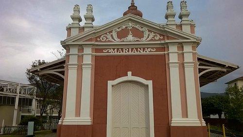 Estação Ferroviária da cidade de Mariana - MG