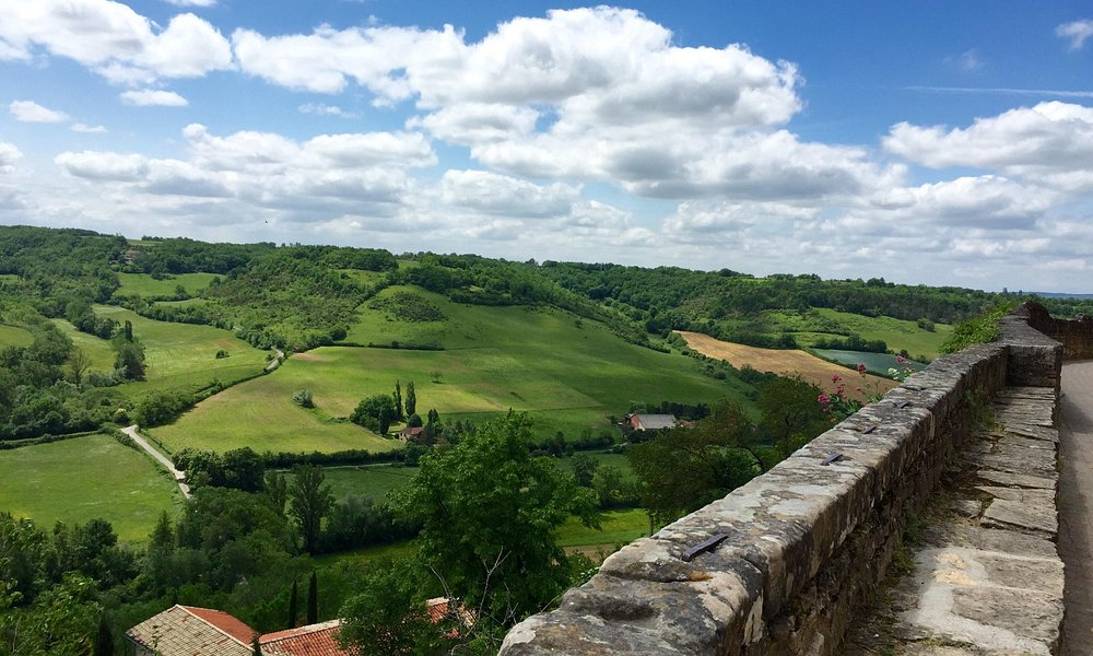 Cordes-sur-Ciel - another view from the walls
