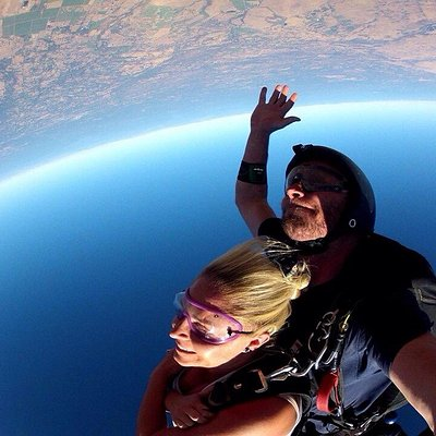 I had an amazing day!!!The jump was beautiful and smooth❤️I'll do it again