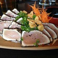 Tuna Tataki with Ponzu