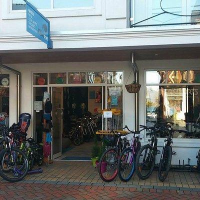Kiwi Sports store front