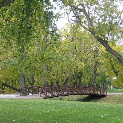 Bike path at Rotary Park