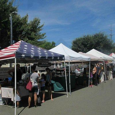 Farmer's Market in Napa, Napa, Ca