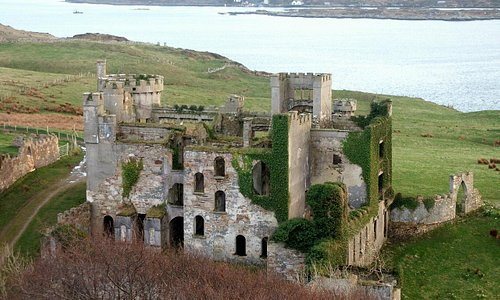 Castle D'Arcy, On Clifden Bay