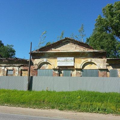 Дворец в Ропше, или то, что от него осталось...