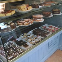 Pastry Cabinet,featuring a selection of some of our products