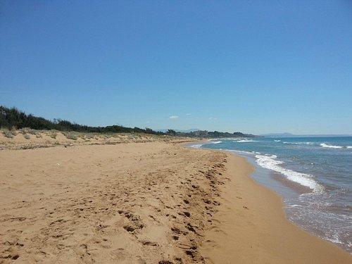 Spiaggia riserva Belice