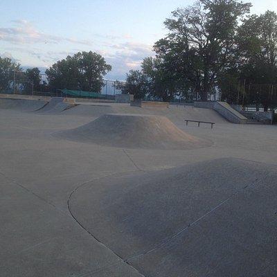 Onondaga Lake Skate Park - bike park (2)