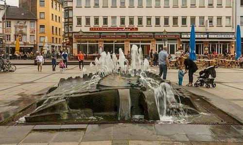 Собственно, фонтан