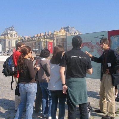 Visite de Versailles avec France Private Tour