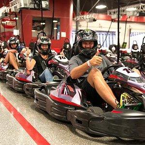 High Speed Kart Racing