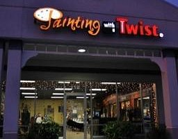 Come see us at Painting with a Twist ~ TRINITY