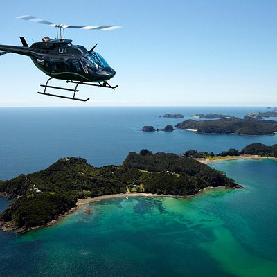 Bay of Islands helicopter scenic flights