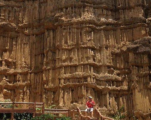 The Pha chor ( Chiang Mai Canyon ) with Sawasdeechingmai tour!!