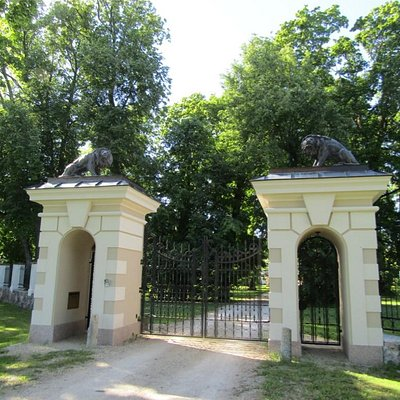 Formal entrance gates