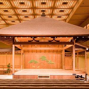 関東最古140年の歴史を誇る能舞台