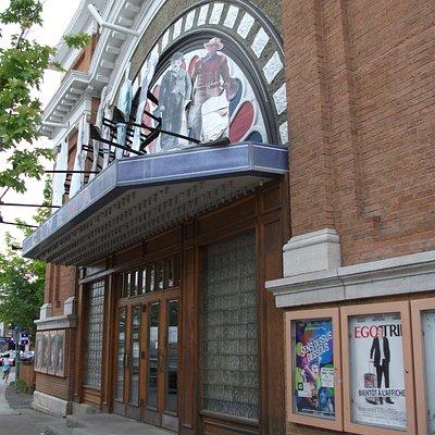 Cinéma Princesse, rue Lafontaine, Rivière-du-Loup