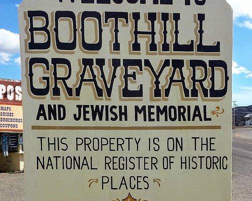 Boot Hill, Tombstone AZ sign