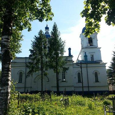 Церковь в Ополье