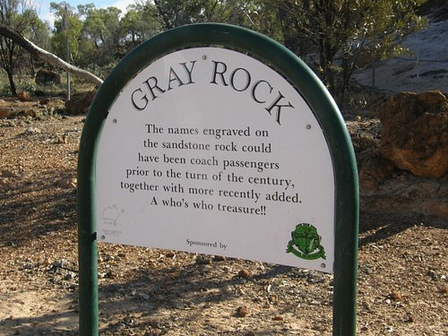 Gray Rock, Cobb & Co stopover