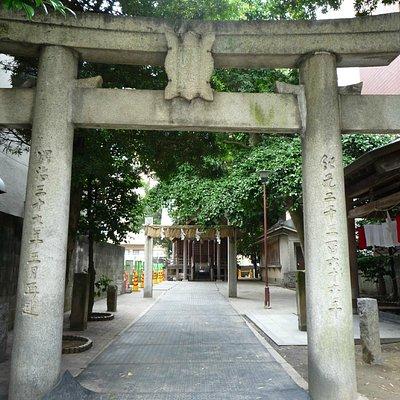 猿田彦神社正面