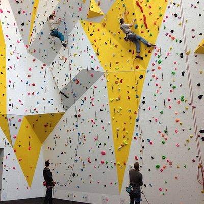 Lead Wall @ Huddersfield Climbing Centre