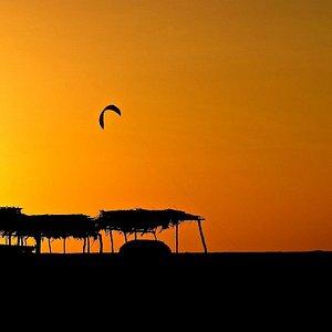 Sunset Kiting