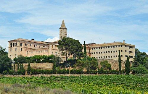 Vista general del monasterio