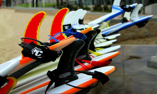 Top notch gear only at HB Surf School