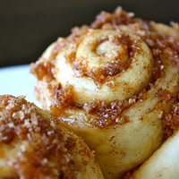 Baked daily our coconut cinnamon scrolls are divine!