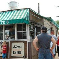 Pete's Hamburger Stand