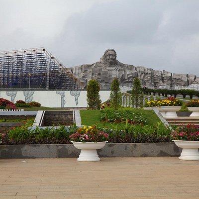The Vietnam's Heroic Mother Statue 2015