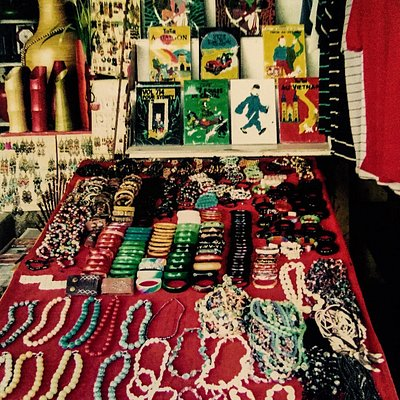 A myriad of wares to entice and delight!