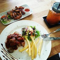 The best Currywurst in Thailand! try it!