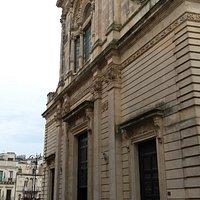 La facciata liberty della cattedrale